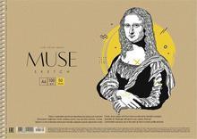 """Skicák, náčrtník """"Muse"""", A4, 100 g, 50 listů, SHKOLYARYK"""