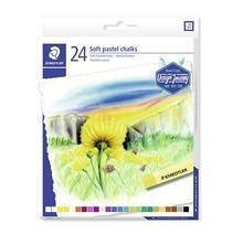 """Pastelové křídy """"Design Journey"""", sada, 24 barev, STAEDTLER"""