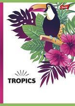 """Sešit """"Tropic"""", čtverečkovaný, A5, 96 listů, UNIPAP - 3/3"""