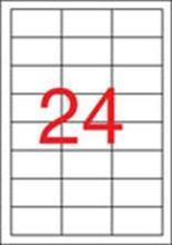 Etiketa, ILC, 64,6x33,8 mm, třířadé, 2400 ks/bal., APLI
