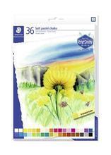 """Pastelové křídy """"Design Journey"""", sada, 36 barev, STAEDTLER"""