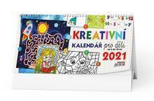 Stolní kalendář - Kreativní kalendář pro děti, CZ, BALOUŠEK