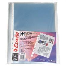 Extra široké závěsné plastové kapsy, A4 Maxi, 120 mikronů, pomerančový povrch, ESSELTE