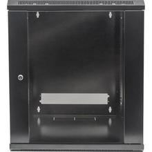 """Rack skříň, černá, 19"""", 12U, 635x570x450 mm, nástěnná, INTELLINET"""