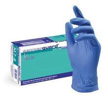 """Ochranné rukavice """"Semper"""", jednorázové, nitrilové, velikost L/10, 200 ks, nepudrované"""