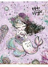"Sešit ""Mermaid"", čtverečkovaný, mix, A5, 36 listů, SHKOLYARYK - 3/4"