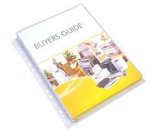 Obal na katalogy, transparentní, A4, 180 micron, 25mm, VICTORIA
