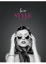 """Sešit """"Be in style"""", linkovaný, mix, A5, 80 listů, SHKOLYARYK"""
