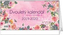 Stolní kalendář - Dvouletý kalendář s měsíčním kalendáriem 2019/2020, BALOUŠEK