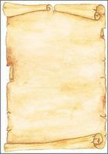 Papír s motivem pergamen, A4, 90g, SIGEL