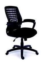 """Executive židle, textilní, černá základna, MaYAH""""Smart"""", černá"""