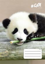 "Sešit ""Wildlife"", A4, mix motivů, linkovaný, 32 listů, COOL by Victoria"