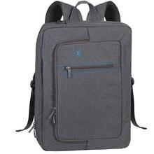 "Batoh a taška na notebook zároveň ""Aspen 7590"", šedá, 16"", RIVACASE"