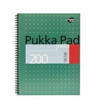 "Blok ""Metallic Jotta"", A4+, čtverečkovaný, 100 listů, spirálová vazba, PUKKA PAD"