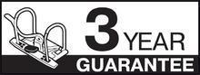 """Pákový pořadač """"Standard"""", ochranné spodní kování, bordó, 50 mm, A4, PP, ESSELTE - 4/5"""