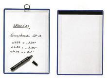 Kontrolní kapsy magnetické A4 na výšku, modré, 5 ks, TARIFOLD