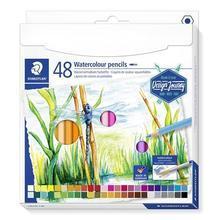 "Akvarelové pastelky ""Design Journey"", 48 barev, šestihranné, STAEDTLER"