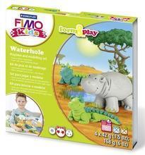 Sada Fimo kids Form & Play Zvířátka z Afriky, FIMO