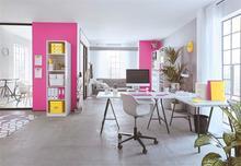 """Organizační krabice """"Click&Store"""", růžová, velikost S, PP karton, lesklá, LEITZ - 5/6"""