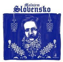 """Antistresové omalovánky """"Maľujem Slovensko"""""""
