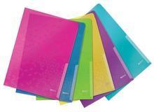 """Desky L """"WOW"""", mix barev, A4, 200 mikron, LEITZ"""