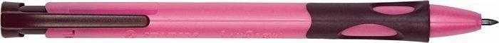 """Mikrotužka """"LeftRight"""", růžová, 2mm, pro praváky, STABILO"""