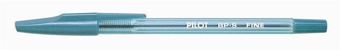 """Kuličkové pero """"BP-S"""", zelená, 0,27mm, PILOT"""