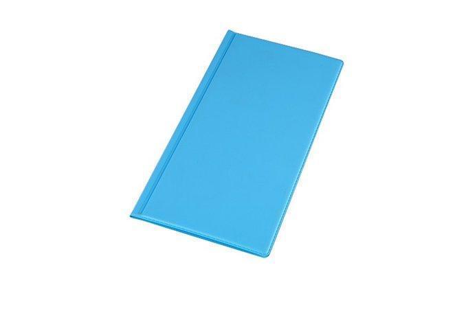 Vizitkář, pastelově modrá, 96 ks, PANTA PLAST