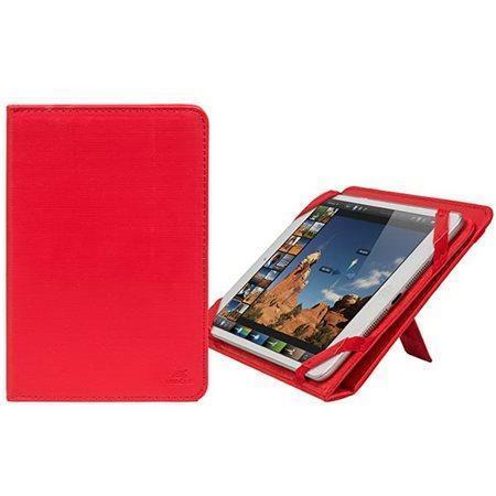 """Pouzdro na tablet """"GATWICK"""" červená, 8"""", stojánek,  RIVACASE"""