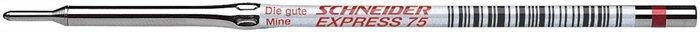"""Náplň do kuličkového pera """"Express 75"""", červená, 0,5mm, SCHNEIDER"""