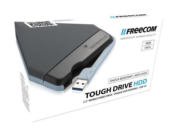 "2,5"" HDD (hard-disk), 1TB, USB 3.0, nárazovzdorný, FREECOM ""ToughDrive"""