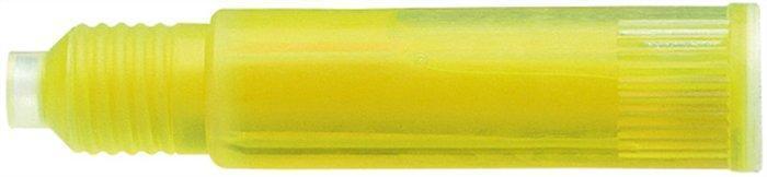 """Náplň do zvýrazňovače """"666"""", žlutá, do zvýrazňovače """"Maxx 115"""", SCHNEIDER Počet kusů v balení: 3"""