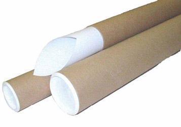 Tubus, kartonový, hnědý, O 52 mm x 74 cm
