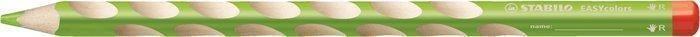 """Barevná pastelka """"Easycolours"""", trojhranná, pro praváky, žluto-zelená, STABILO"""