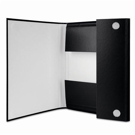 Desky, černá, zavírání na suchý zip, 35 mm, PP/karton, tvrdé, DONAU