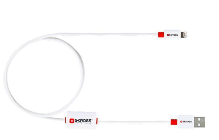 """USB kabel """"BUZZLIGHTNINGCAB"""", lightning, BUZZ alarm, SKROSS"""