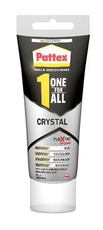 "Lepidlo ""Pattex One for All Crytal"", 90 g, HENKEL"