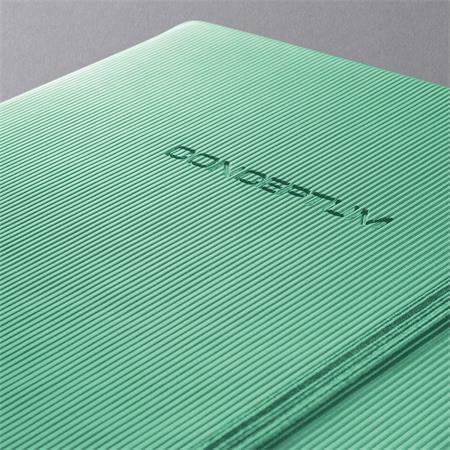 """Záznamní kniha """"Softwave"""", zelená, exkluzivní, A6, linkovaný, 194 listů, SIGEL"""