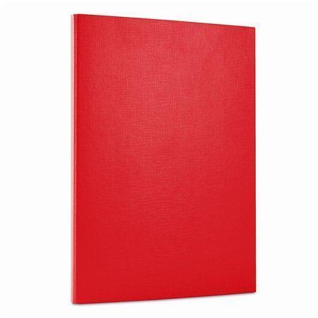 Desky, červená, zavírání na suchý zip, 15 mm, PP/karton, tvrdé, DONAU