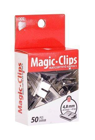 "Klip na dokumenty, 4,8 mm, ICO ""Magic Clips"""