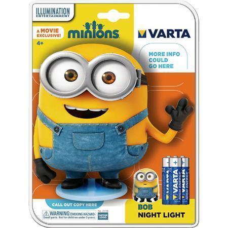 """Svítilna """"Mimoni"""", 3xAA, LED, noční světlo, VARTA"""