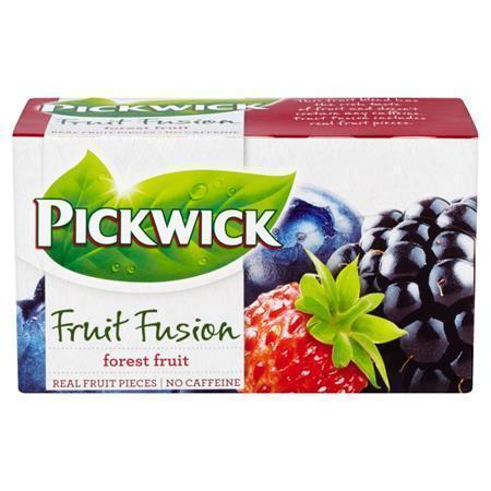 """Čaj """"Fruit Fusion"""", lesní ovoce, 20x1,75 g, PICKWICK"""