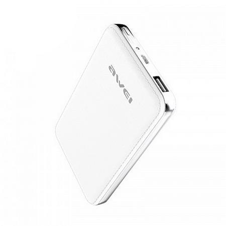 "Portable power bank ""P84K"" - přenosná baterie, bílá, 10400 mAh, AWEI"