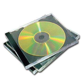 CD-box, standard, na 1ks, FELLOWES, černý