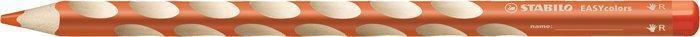 """Barevná pastelka """"Easycolours"""", trojhranná, pro praváky, oranžová, STABILO"""