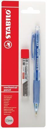 """Mechanická tužka """"fun min"""" s tuhou, různé barvy, 0,5 mm, STABILO"""