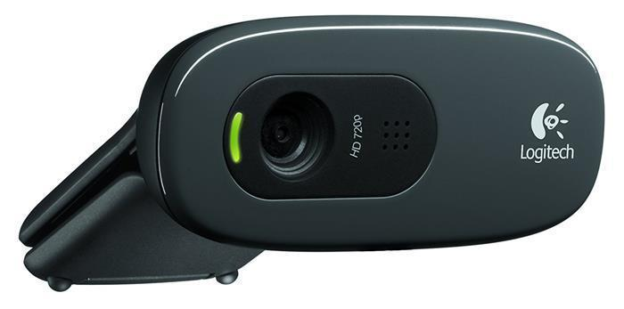 "Webkamera ""C270"", s mikrofonem, USB, LOGITECH"