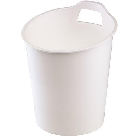 """Odpadkový koš """"Green2Desk"""", bílá, plastový, FELLOWES"""