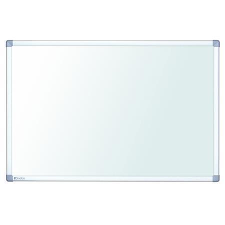 """Bílá tabule """"Nano Clean Steel"""", 90x120 cm, hliníkový rám, NOBO"""