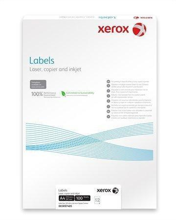 Etiketa, pro laserové tiskárny, 99,1x38,1 mm, 1400ks/bal., XEROX